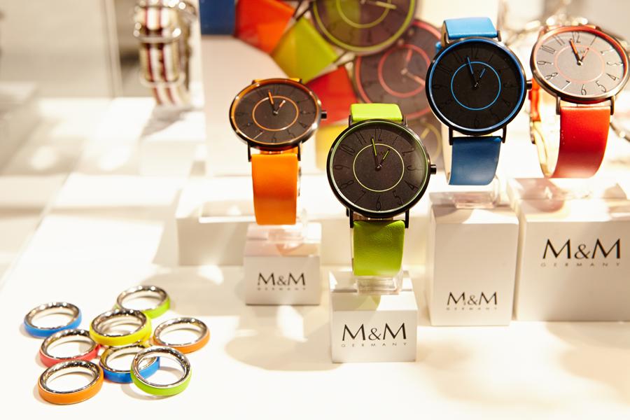 INHORGENTA MUNICH 2013, хол A1, M&M Uhren GmbH – Цветна Блок Серия – © Messe München GmbH