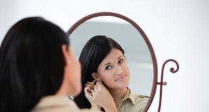 Необходими грижи след пробиване на уши