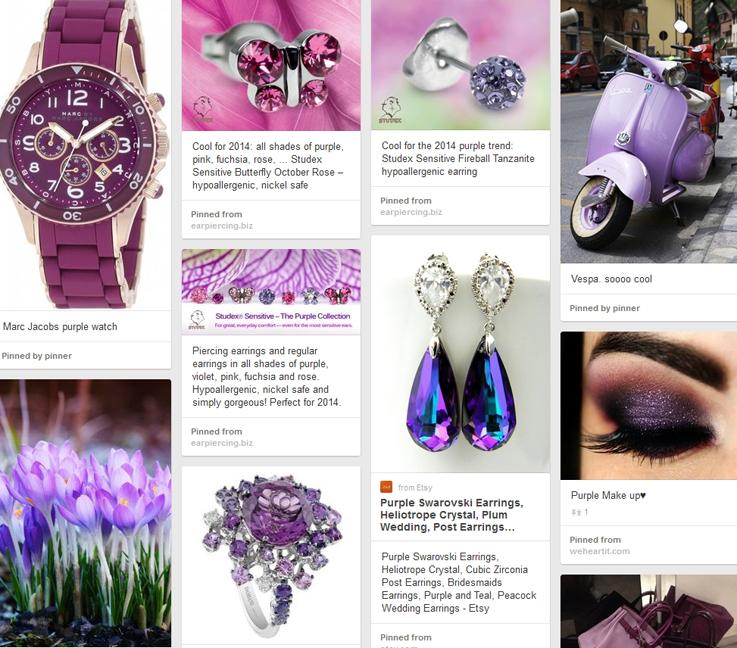 Пролетни тенденции - Цвят лилав
