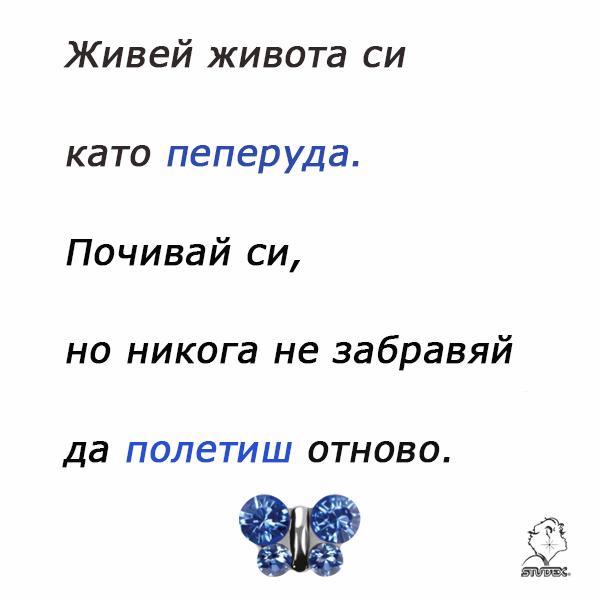 Пеперудени бижута...