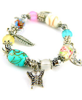 Butterfly jewelry: bracelet